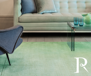 Mint Green Plain rug