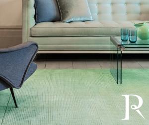 Mint Green Plain rug