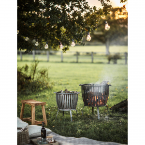 iron fire pit for styling your outdoor space