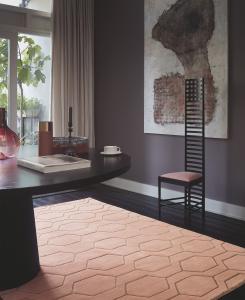 wedgwood arris pink rug