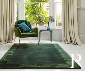 forest green ascot rug - 2019 interior trends