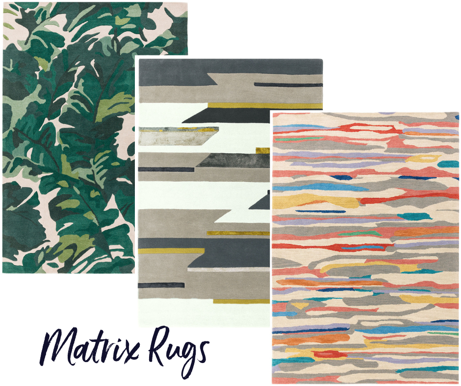 Matrix Colourful Rugs for Office