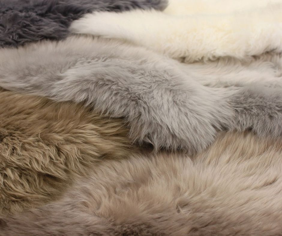 Sheepskin Sustainable Rugs
