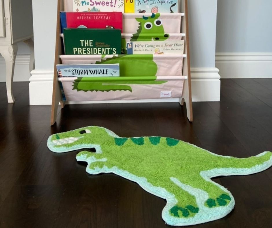 Dinosaur Kids Playroom Rug