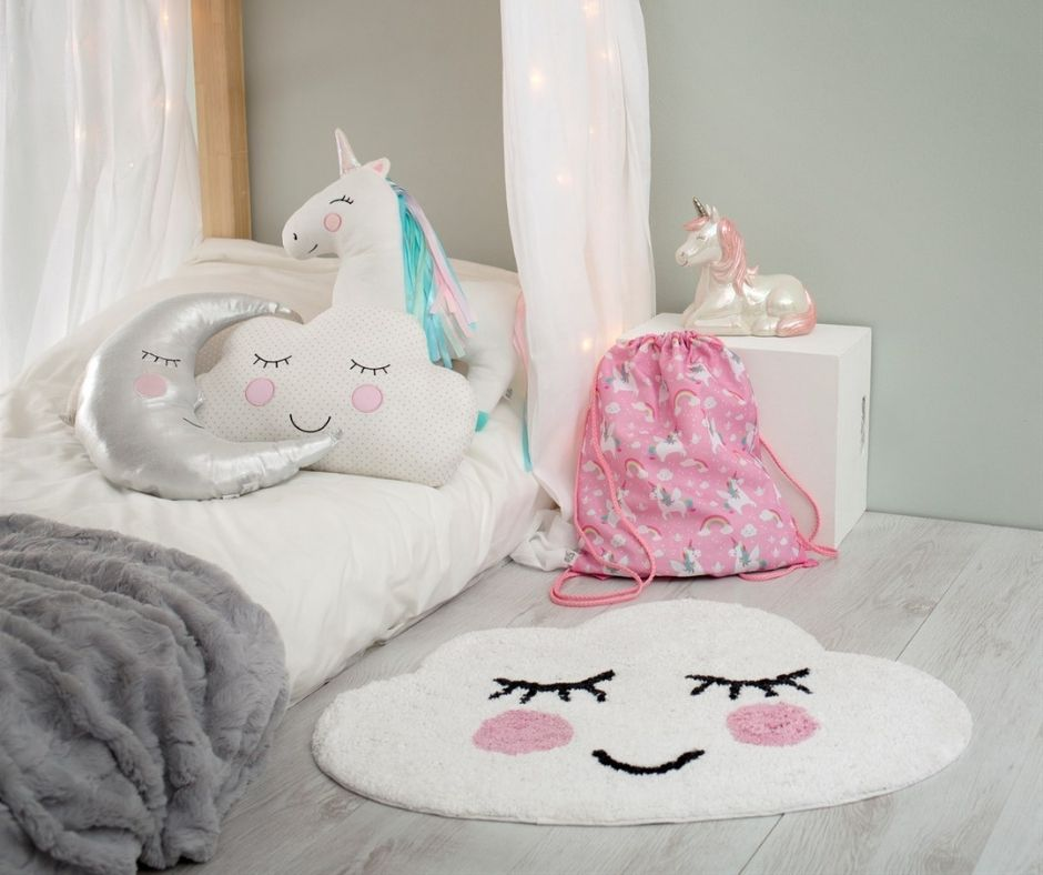 Sass & Belle Smiling Cloud Rug