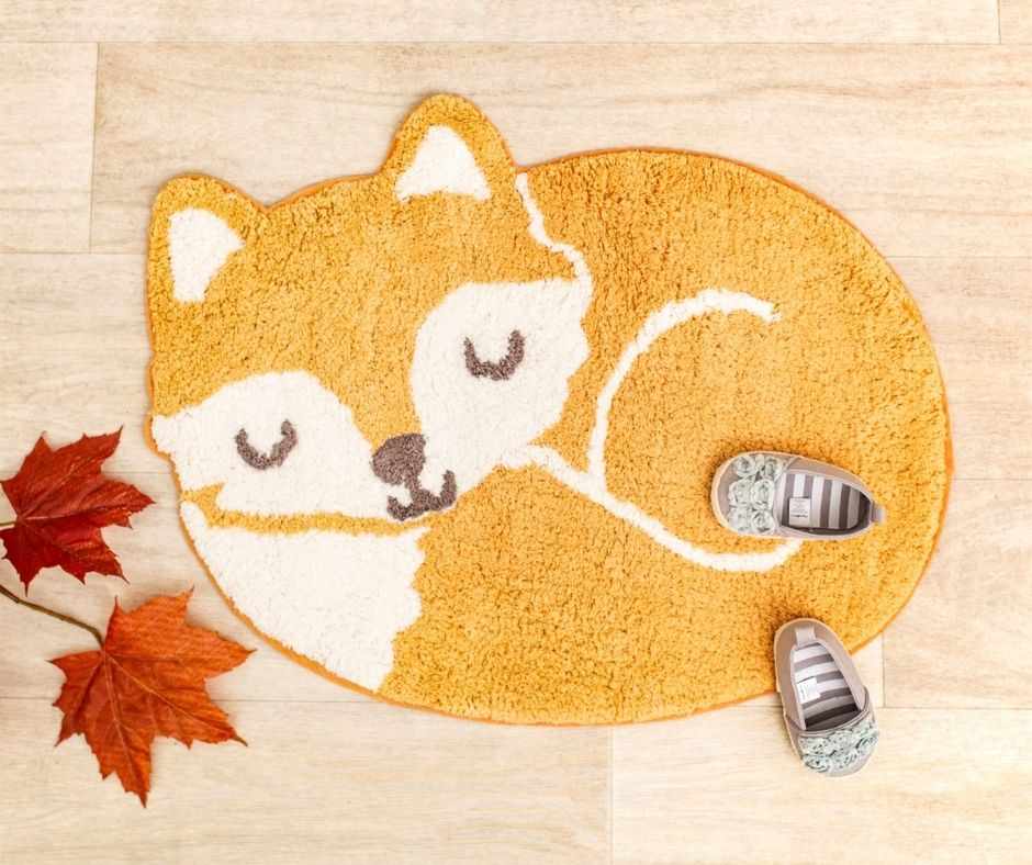 Sass & Belle Woodland Fox Rug