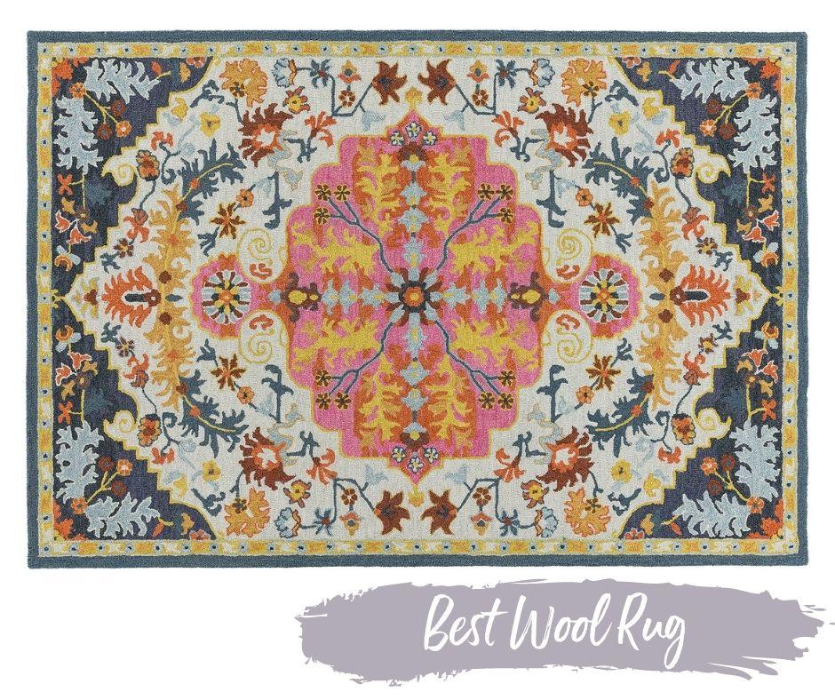 Bronte Multicolour Wool Rug