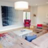 Luxury modern rug styled by Sinead Cassidy for Home of the Year