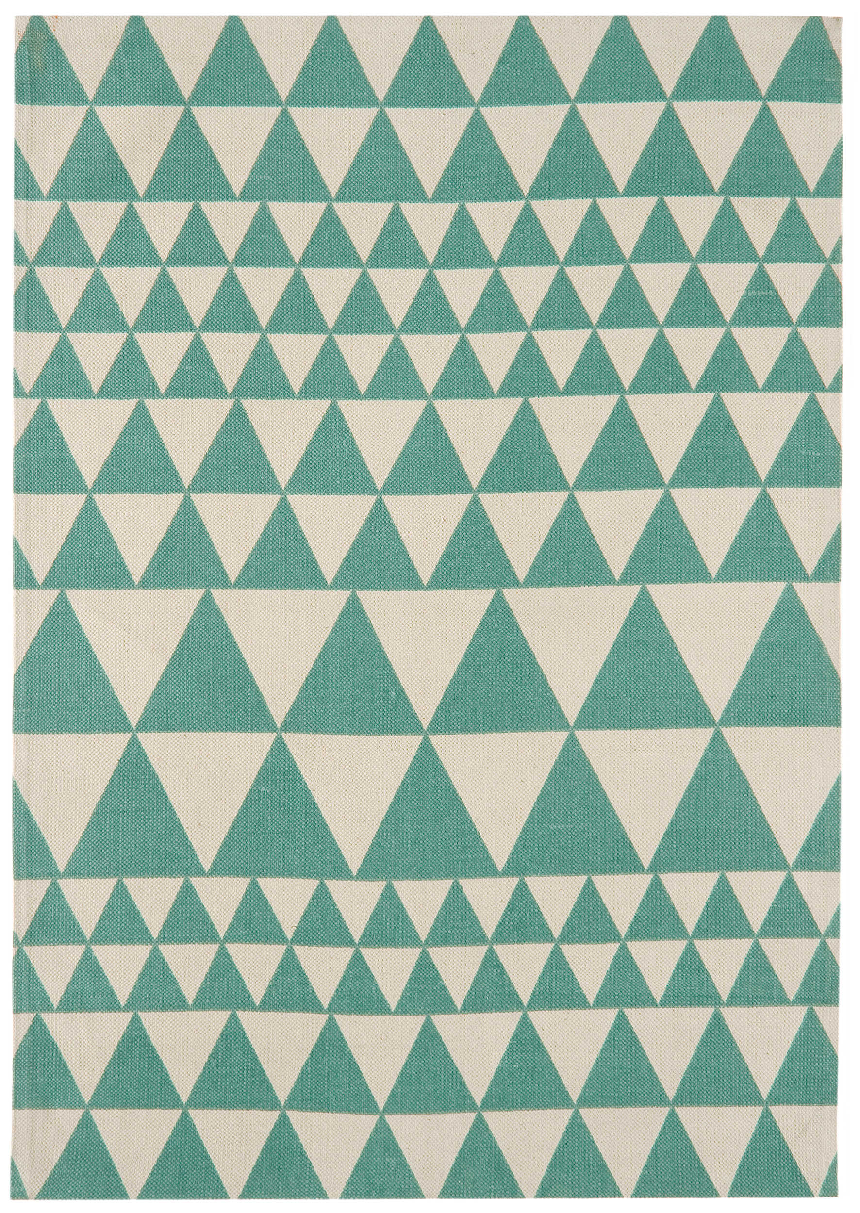 Onix RugON09 Triangles Teal