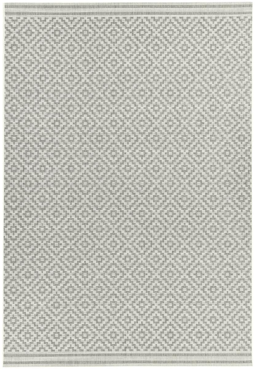 Patio Indoor Outdoor Rug PAT11 Diamond Grey