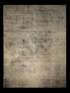 Black vintage persian rug