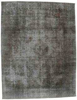 grey vintage persian rug