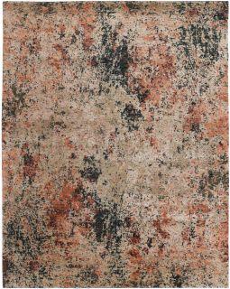 rust cotton area rug