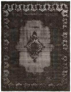 distressed vintage persian rug