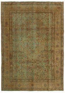 beige vintage persian rug