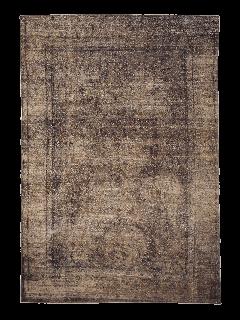 Brown vintage persian rug