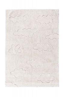 natural cloud design childrens rug