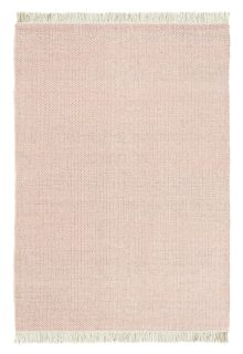 brink and campman flatweave with a pink woven design