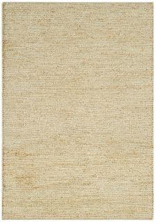 woven cream rug
