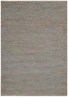 woven grey rug