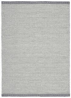 grey and white kelim flatweave rug