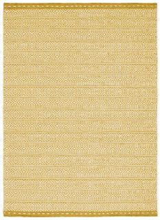 yellow and white kelim flatweave rug