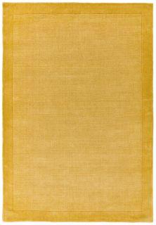 plain yellow rug