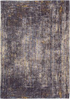 grey and gold abstract rug