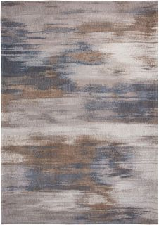 beige and grey abstract rug