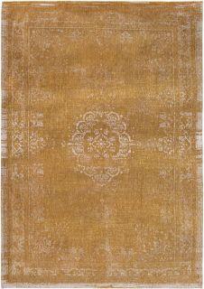yellow vintage style rug