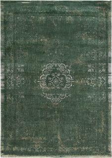 green vintage style rug