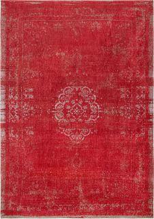 red vintage style rug