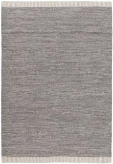 plain grey flatweave rug
