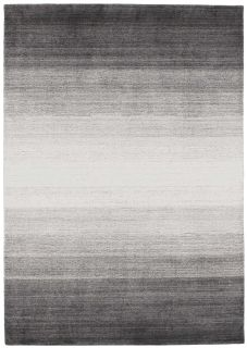 Large grey ombre rug