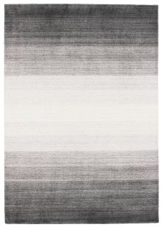 Large grey and black ombre rug