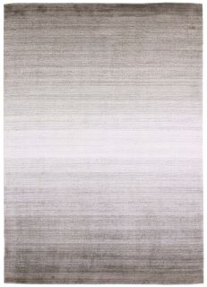 Large brown and beige ombre rug