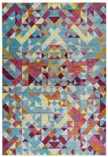 multicolour abstract rug