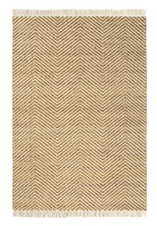 striped yellow and white brink and campman rug