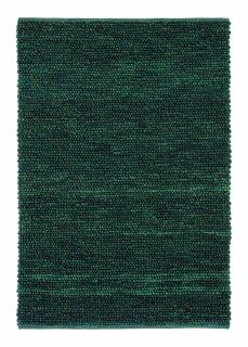 brink and campman green textured wool and jute rug