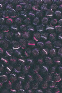 brink and campman purple textured wool and jute rug