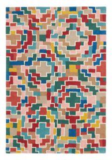 multicolour geometric brink & campman rug