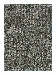 brink and campman dark grey textured wool and jute rug