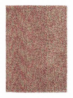 red and grey brink & campman shagpile rug
