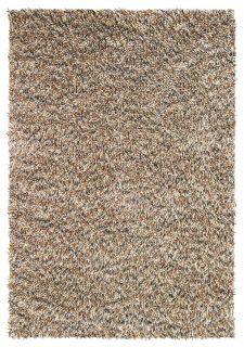 brown brink and campman shagpile wool rug