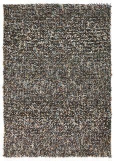 multicolour brink and campman shagpile wool rug
