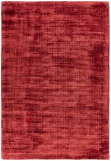 plain red rug