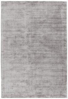 plain silver grey rug