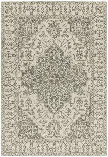 grey vintage style rug