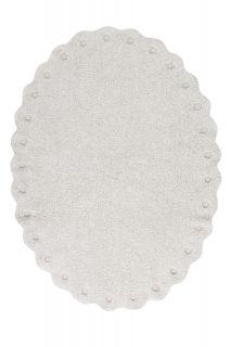 oval ivory rug