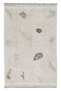 washable green rug